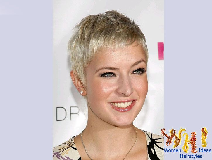 very short haircuts for women with fine hair | Short Gray Hair ...