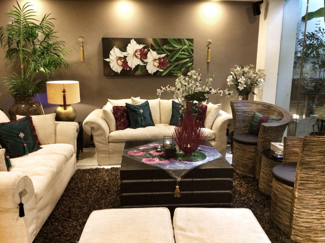 Burgundy and Teal living room decor | Same room different ...