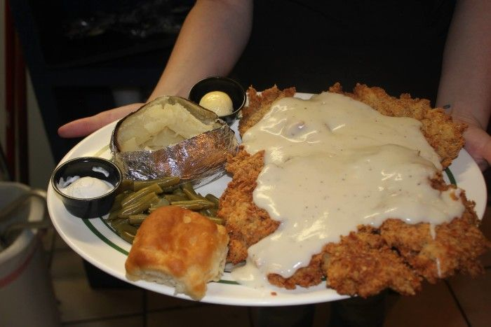 19 Restaurants You Have To Visit In Oklahoma Before You Die Chicken Fried Steak Food Fried Chicken
