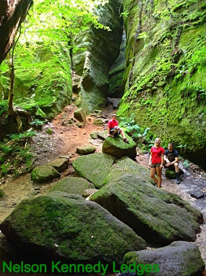 Man Cave Nelson : The ohio hiking trail and historical sites enjoying