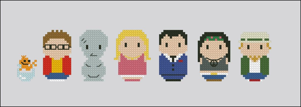 American Dad Cross Stitch Patterns Products American Dad