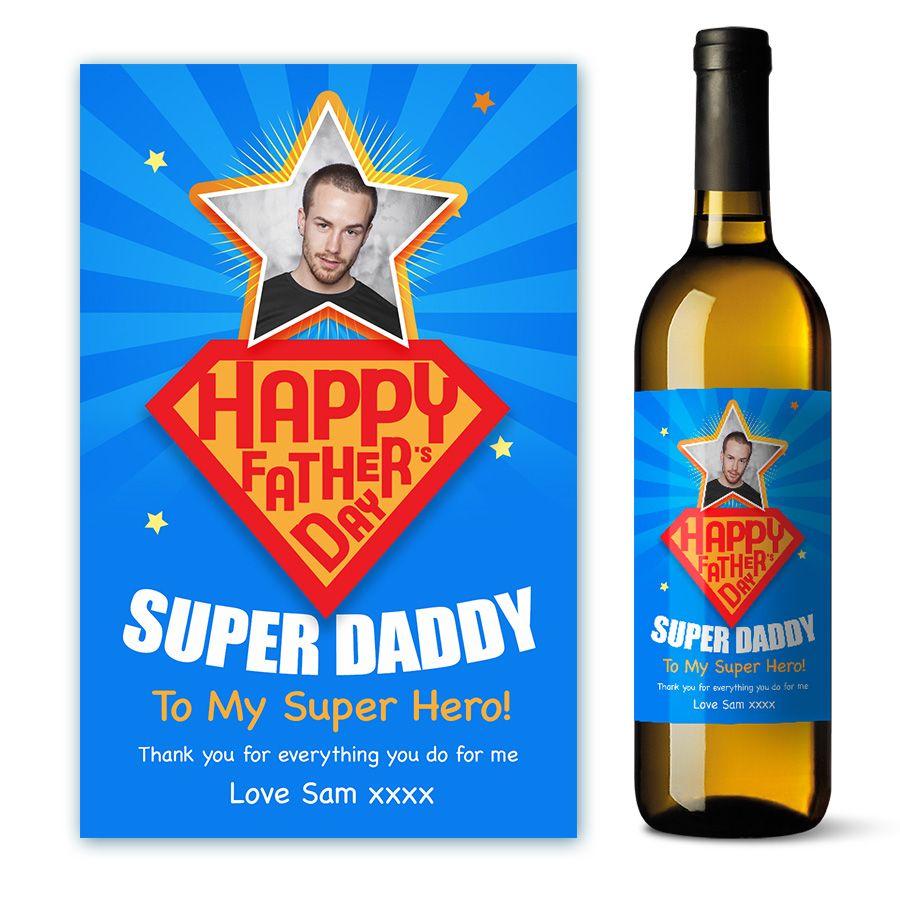 For a super hero of a dad daddy grandad stepdad