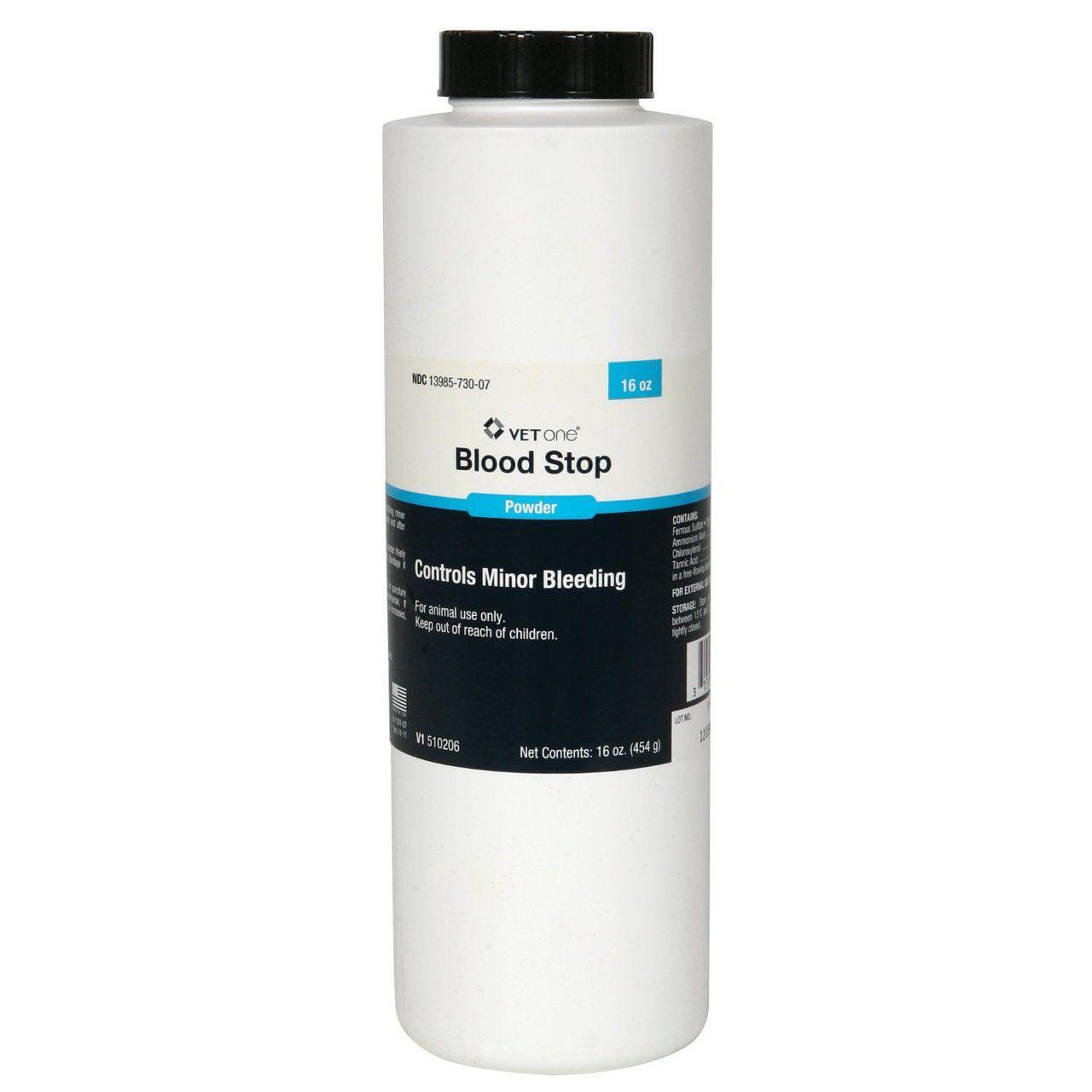 Affordable Vet - Blood Stop Powder (16oz.), $12.00 (http://www.affordablevet.net/supplies/blood-stop-powder-16oz/)