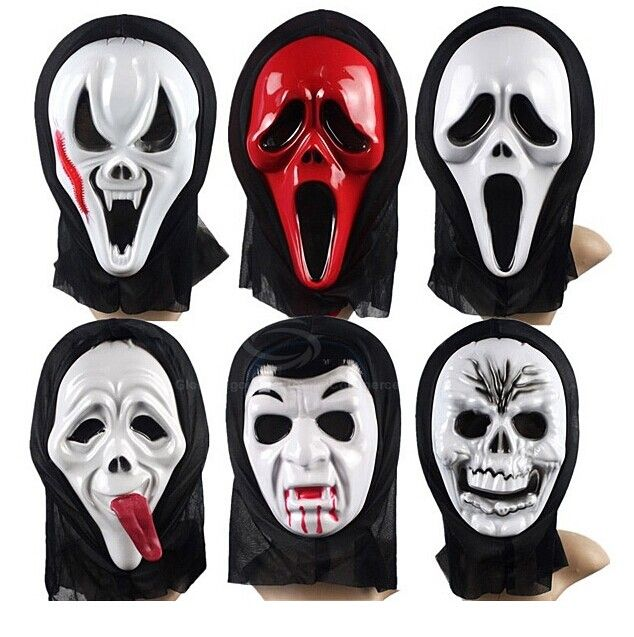 Costume Party Supply Ghost Mask for Halloween/Fancy Dress Party/Carnival - Long Face and Red Tongue Category: Home > Festive & Party Supplies   Main Features: High quality, lower price The mask with black mantilla It is made of environmentally-friendly plastic and fabric Best gift for adults and children Easy to use, not suitable for minors under the age of 14 #celebrationtimepartysupplies #celebrationtimesupplies #partysupplies #supplies #bridgat.com