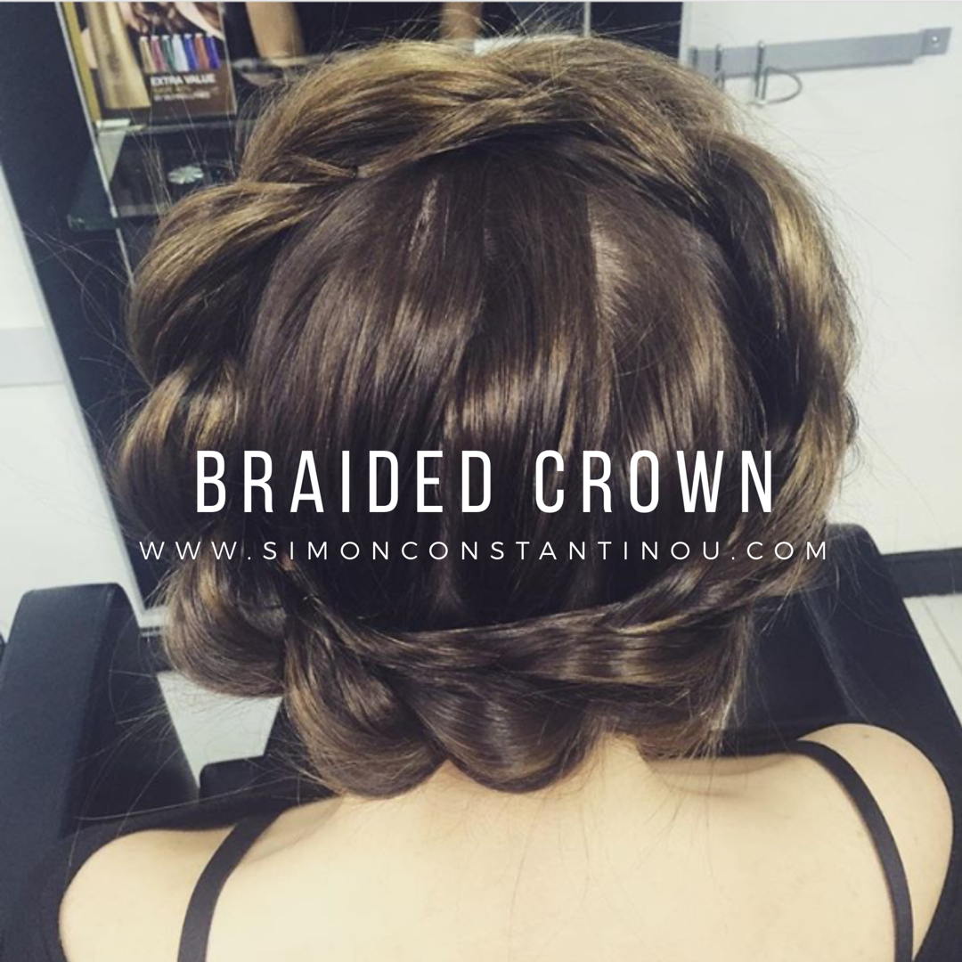 We love this Braided Crown by Chelsea Braids have got to be the