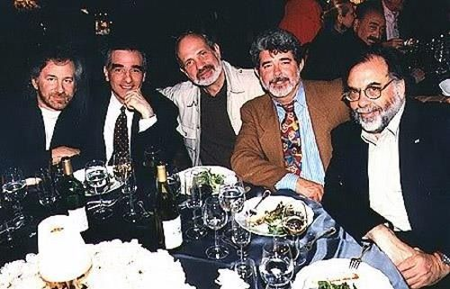 Steven Spielberg, Martin Scorsese, Brian De Palma, George Lucas & Francis Ford Coppola