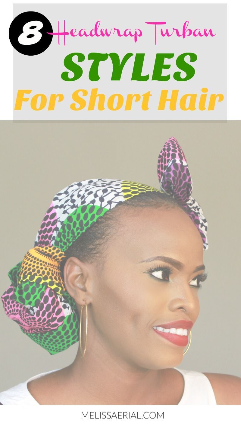 Headwrap ideas tutorial using African print turbans from afro