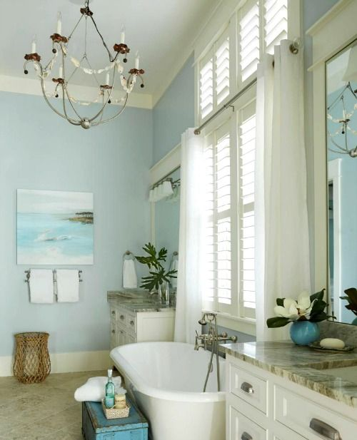Grand Coastal Beach House in Pastel Blue & Sandy Beige ... on blue fireplace designs, black and white tile floor designs, blue fence designs, blue desk designs, blue floor designs, blue bar design, blue solar designs, blue home designs, blue cooking designs, mosaic bathtub designs, blue glass designs, blue computer designs, blue color, blue painting designs, blue waueles, blue snow designs, blue porch designs, cool blue designs, blue counter designs, blue bedroom,