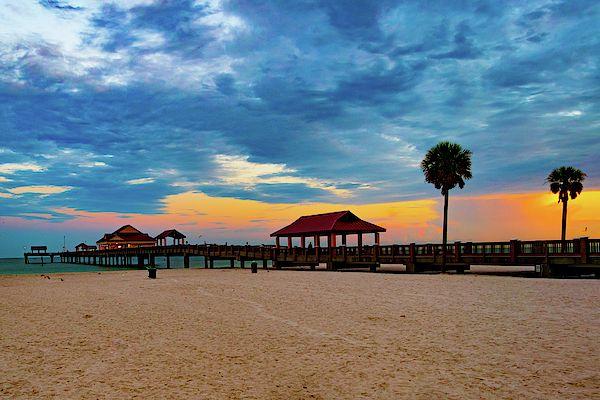 Clearwater Beach Florida Beach Decor Wall Art Wall Decor