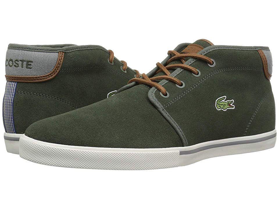 20fbb4a75791f Lacoste Ampthill 318 1 (Khaki Tan) Men s Shoes. The Lacoste Ampthill ...