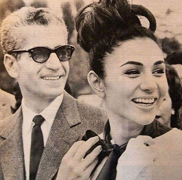 The late mohammad reza shah pahlavi and empress farah for Shah bano farah pahlavi