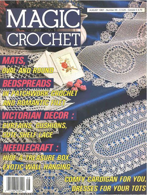 106 July-August 2000 ~ 11 crochet patterns Annie/'s Favorite Crochet No