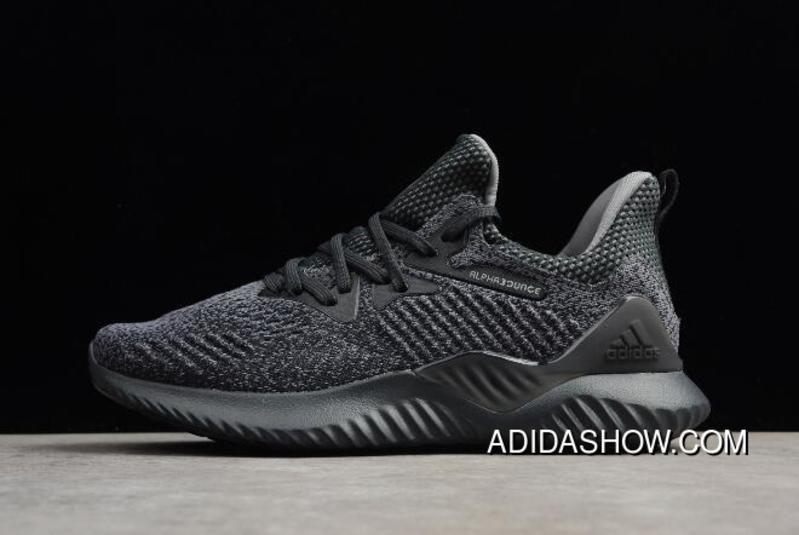 New Alphabounce Em M Grey Black Mens Running Shoes Aq0573 Super
