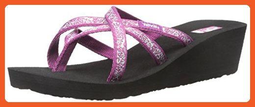 f59fe76bf841 Teva Women s Mush Mandalyn Ola 2-2 Pack Wedge Sandal