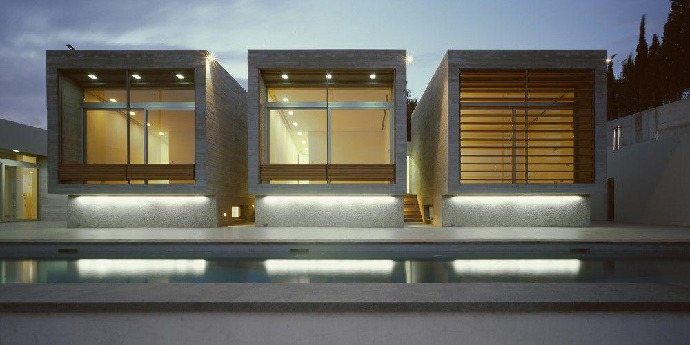 Residências Kavouri / Kokkinou-Kourkoulas Architects