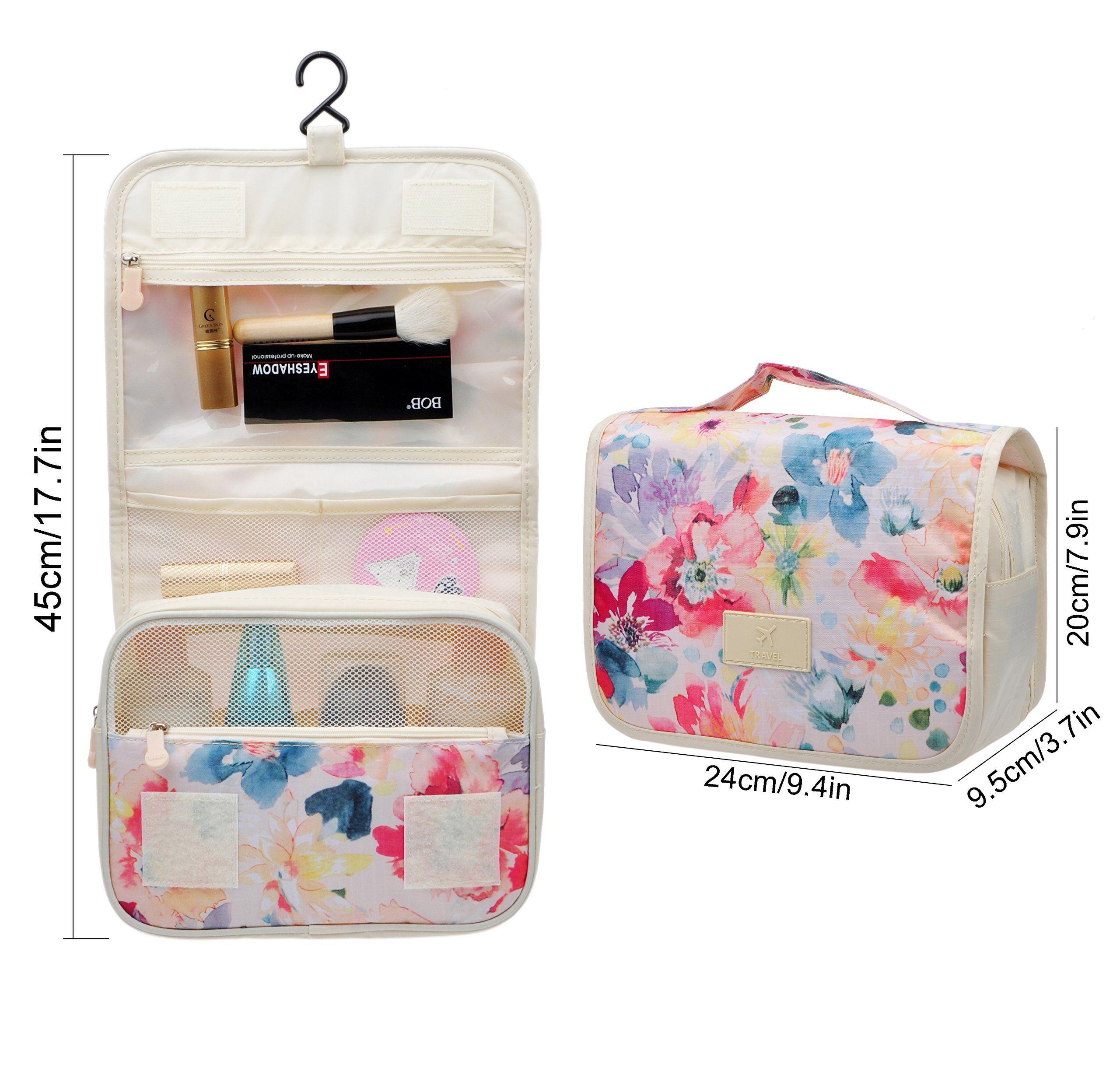 Cosmetic Makeup Bag CaseHanging Toiletry BagTravel