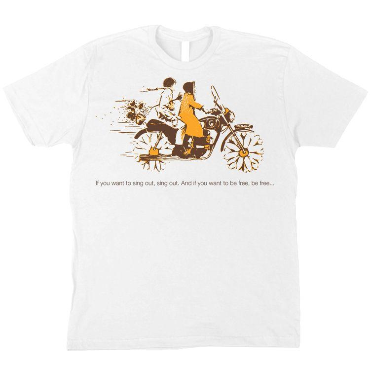 Harold & Maude T-Shirt — Rainbow Pie