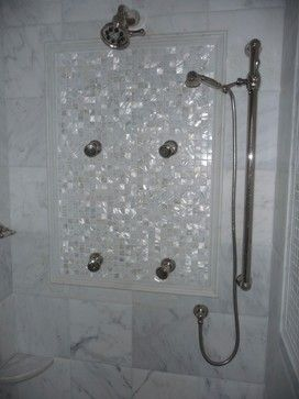 Pearl Tile Design Ideas Pictures Remodel And Decor Pearl Tile Bathroom Wall Tile Bathroom Shower Walls
