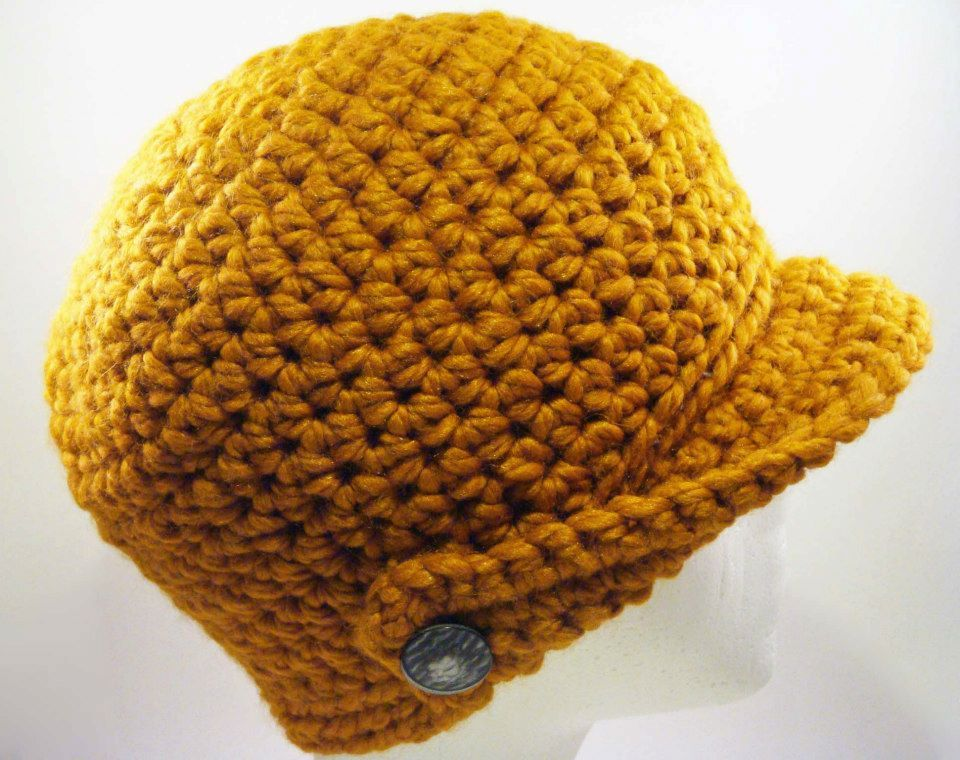 Winged-Brim Beanie Cap designed by Diane McGettigan - another option for the October drawing - check out my facebook page for more info at www.facebook.com/knittermama