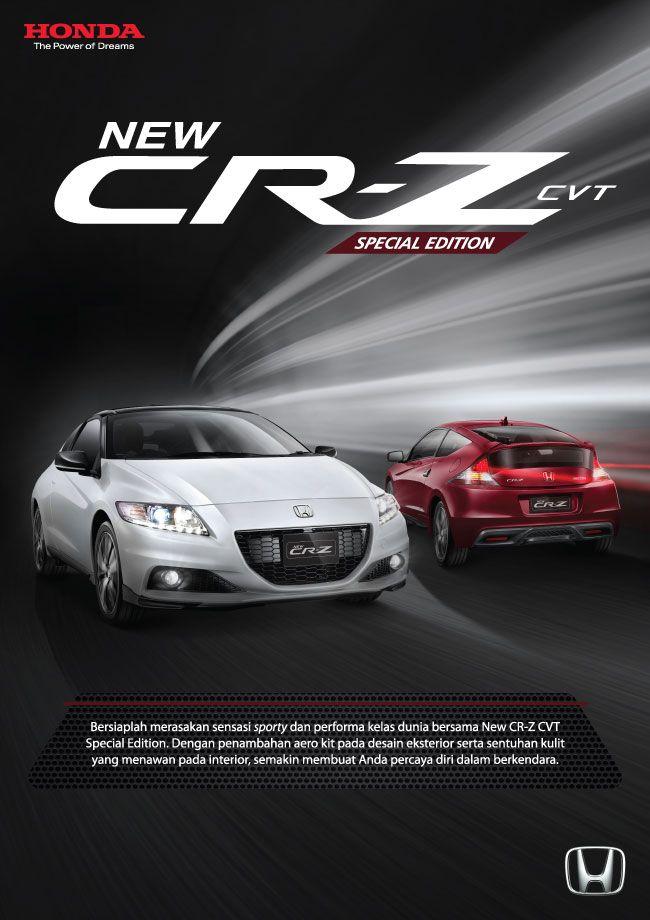 Cr Z Cvt Special Edition Dealer Mobil Honda Ahmad Yani Bandung