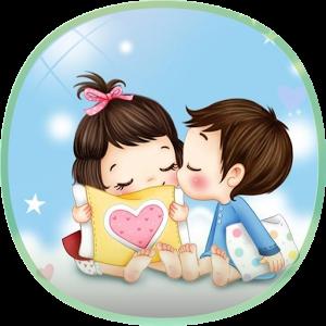 Pin By Janie Flores On Ilustraciones De Parejas Romantic Dp Dp For Whatsapp Cartoons Dp
