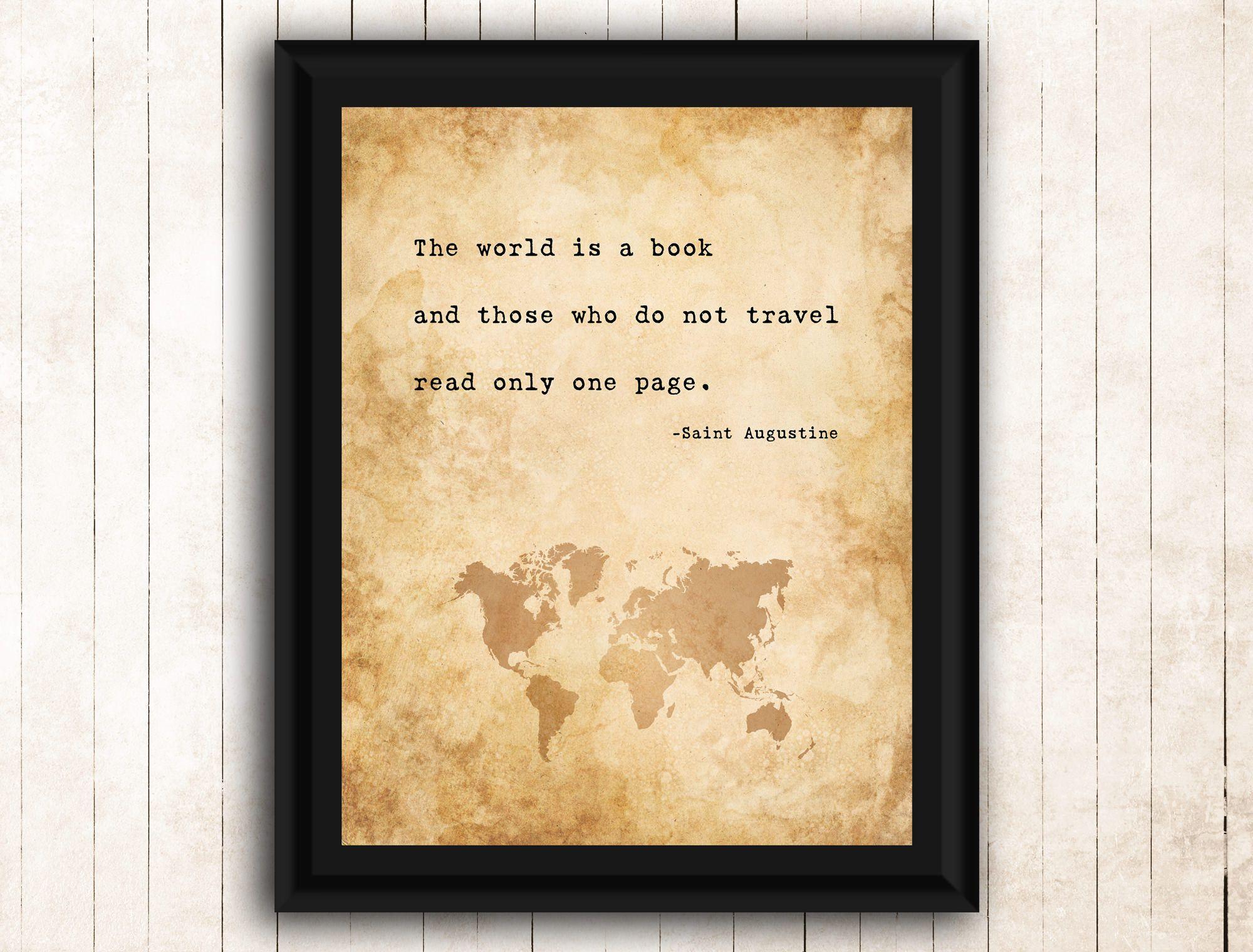 Printable Wall Art, Printable Motivational Quotes, Printable Travel ...