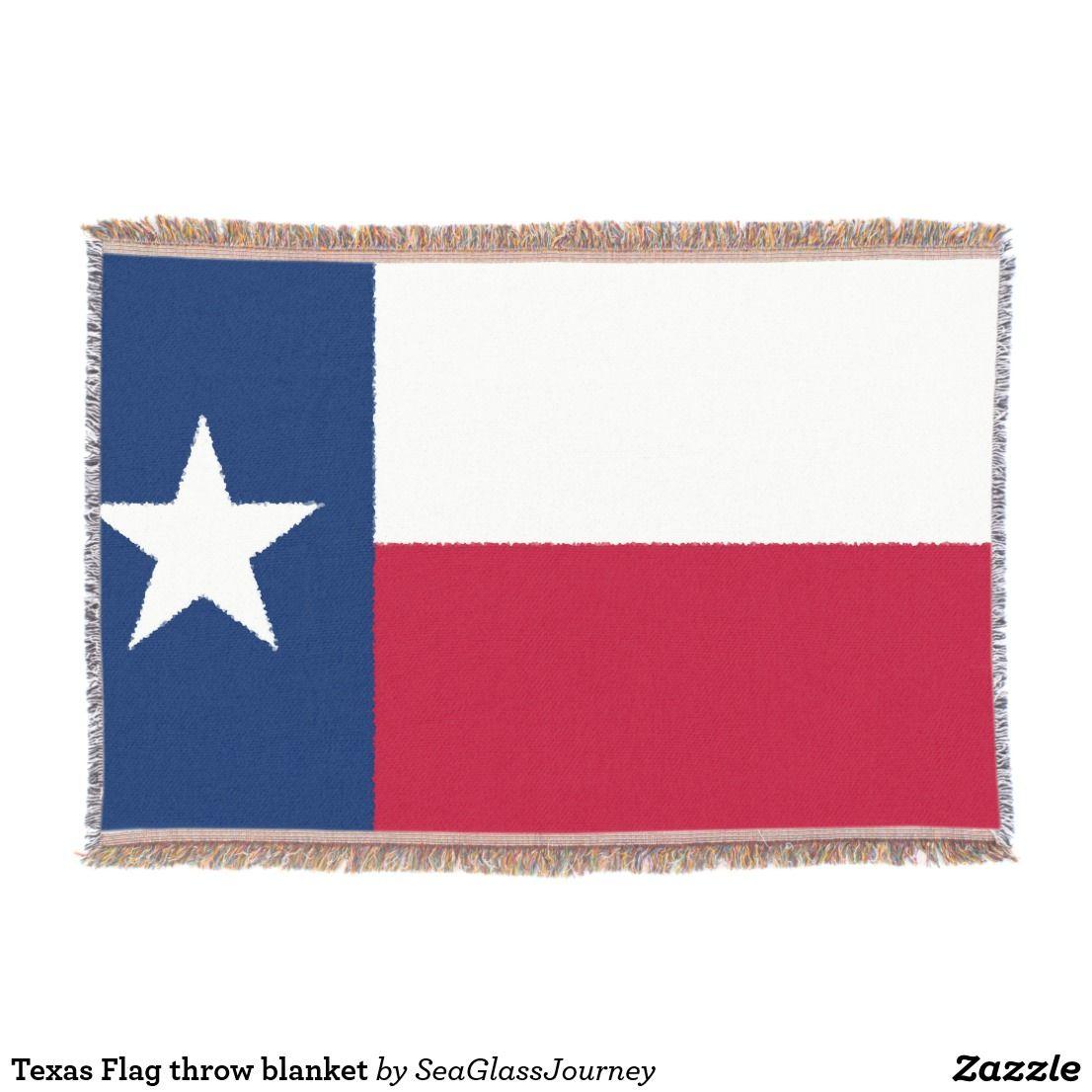 Texas Flag Throw Blanket Zazzle Com Throw Blanket Texas Flags Flag