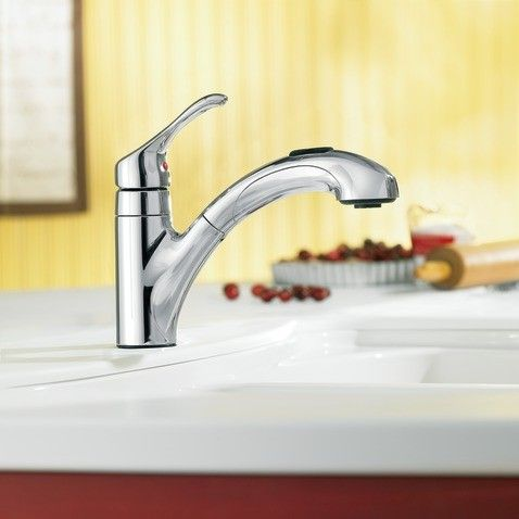 Moen Caprillo Chrome One Handle Low Arc Kitchen Faucet | Soothing Kitchen  Faucets | Pinterest | Kitchen Faucets, Faucet And Kitchens