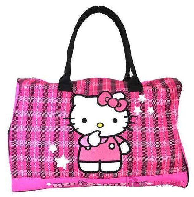 fa55a00457 Licensed Hello Kitty Fashion Duffle Bag Travel Gym Bag 20 Large ...