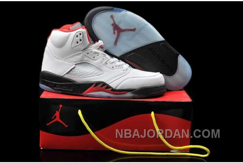 f59eb2919a63 http   www.nbajordan.com nike-air-jordan-5-mens-engraved-hardcover-edition- white-red-black-shoes.html NIKE AIR JORDAN 5 MENS ENGRAVED HARDCOVER EDITION  ...