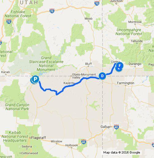 Day 8 Horseshoe Bend Az Antelope Canyon Az Four Corner