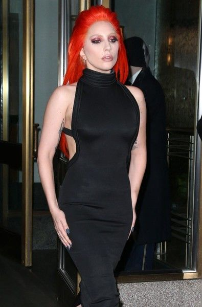Lady Gaga steps out in NYC.