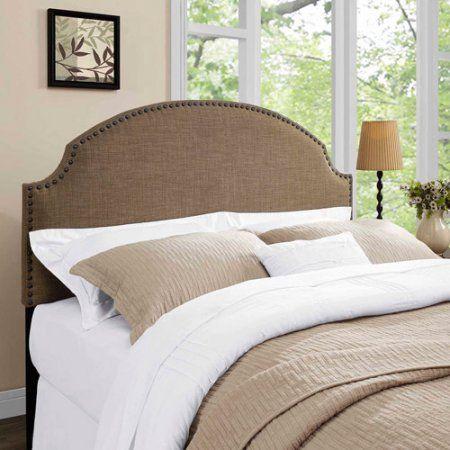 Home Queen Upholstered Headboard Dorel Living