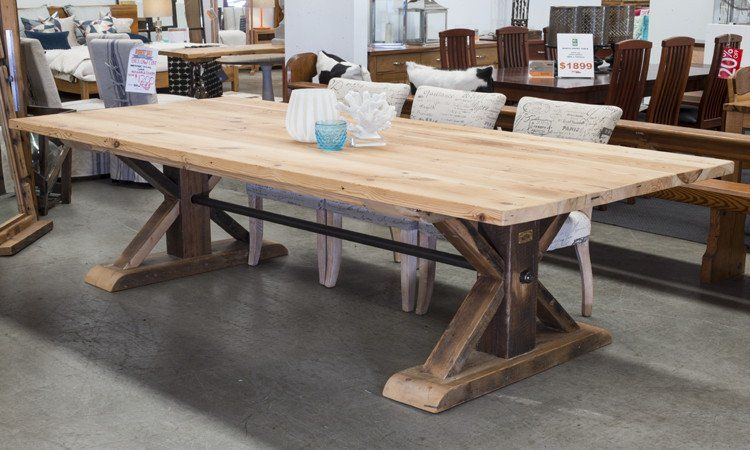 Old London French Industrial Table | french country | Pinterest