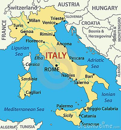Related Image Italy Map