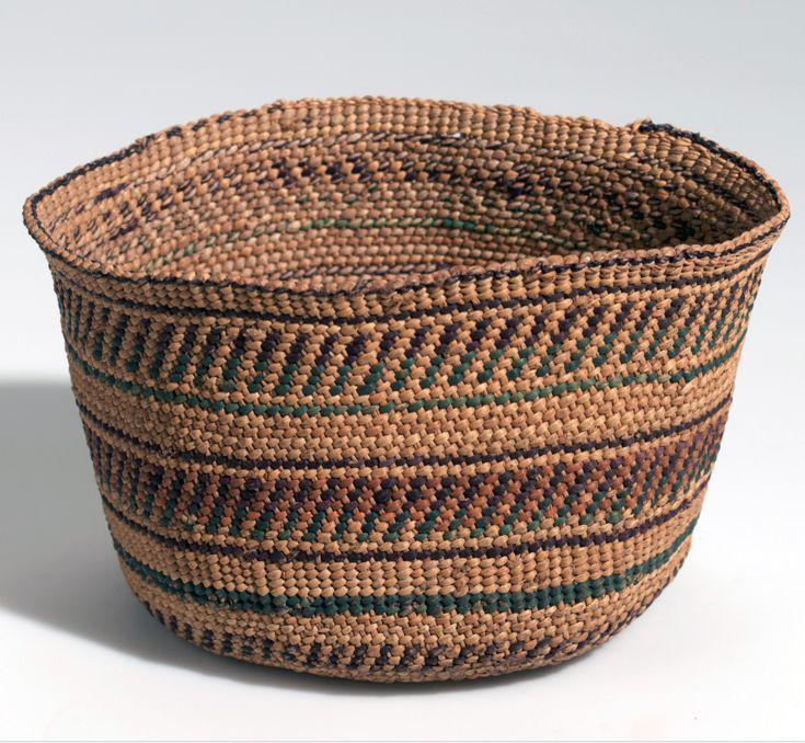 Africa Basket From The Bena Wabena People Of Tanzania