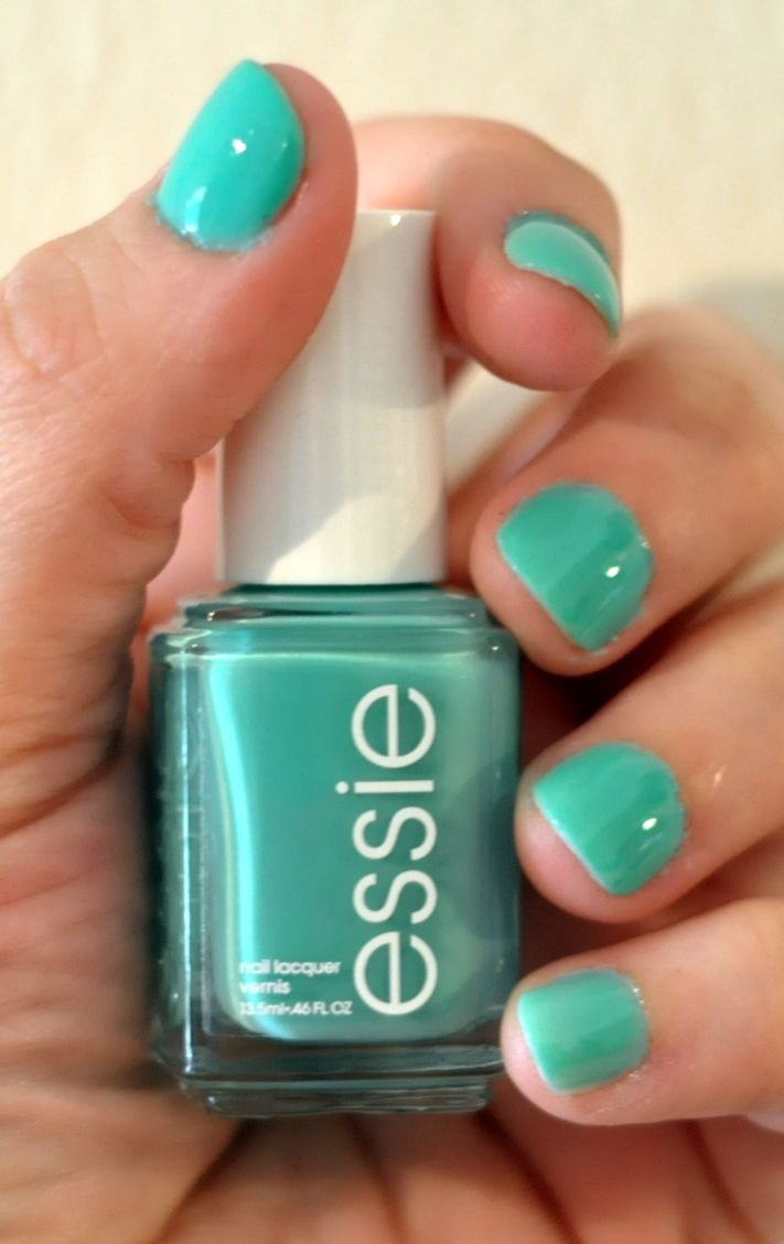 Essie - Turquoise & Caicos... all summer long. Love the colour