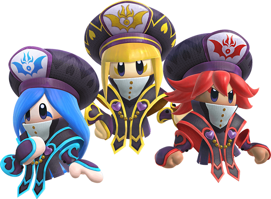 The Three Mage Sisters Kirby Horsemen Of The Apocalypse Pet Fox