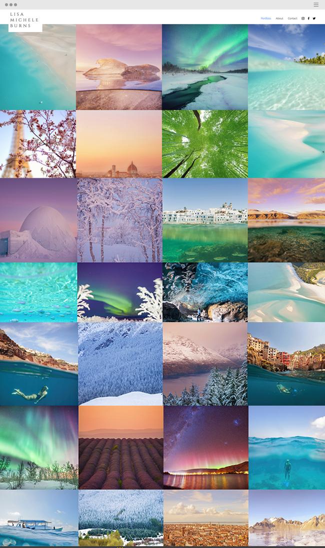 12 Stunning Photography Portfolios Examples Photography Website Photography Templates Photography Portfolio