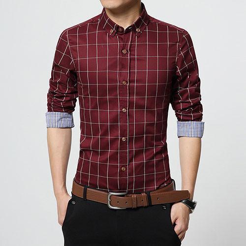 Item Type: Shirts Gender: Men Sleeve Length: Full Shirts Type: Casual Shirts Bra... 3