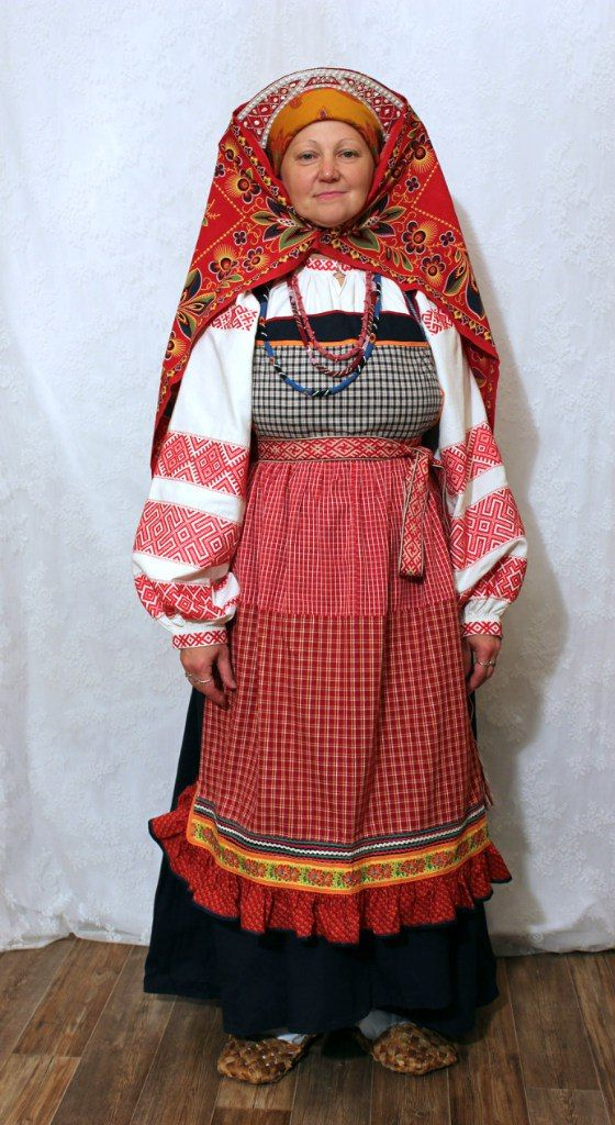 Национальный костюм пермского края фото