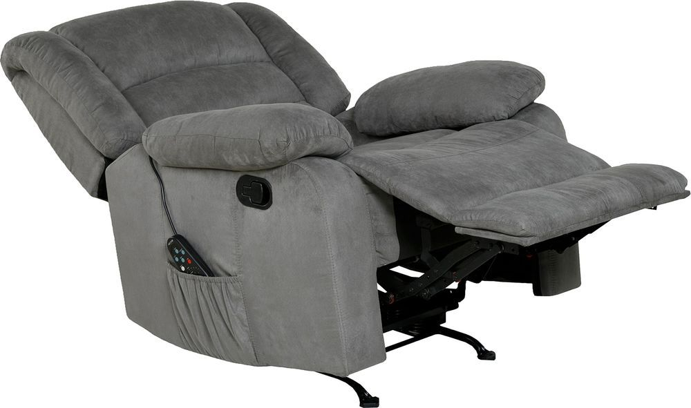 Electric Upholstered Massage Chair Recliner Rocker Therapy