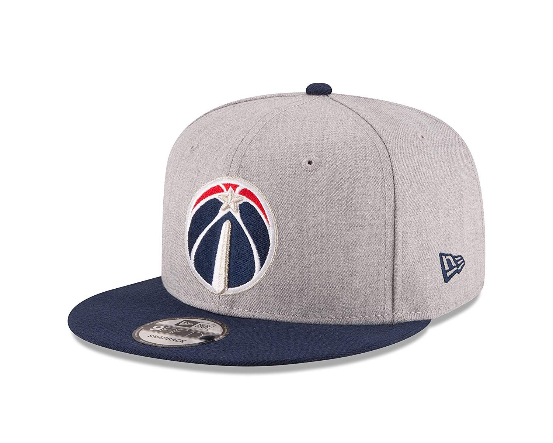 quality design 37311 d327a New Era NBA Washington Wizards Adult Men NBA 9Fifty 2Tone Heather Snapback  Cap,  37.99