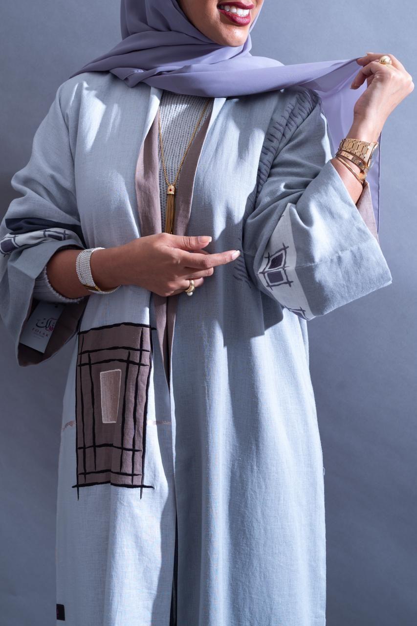Flk 462 Heracloset Online Abaya Fashion Abayas Fashion Hijab Fashion