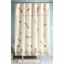 What a terrific selection of dragonfly shower curtains and shower curtain hooks you'll find featured here!    If you're looking to re-decorate your...