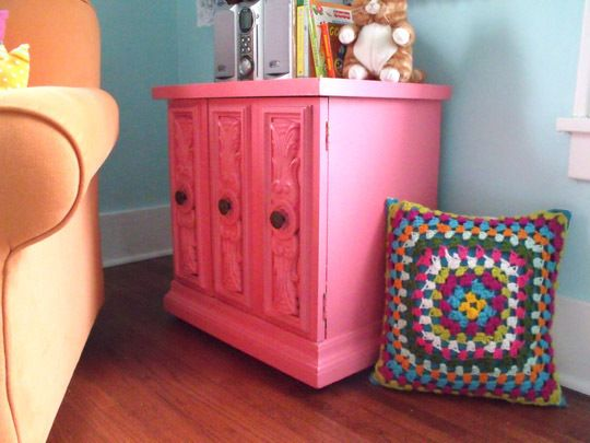 Betcha never thought that an old, Mediterranean style chest could ...