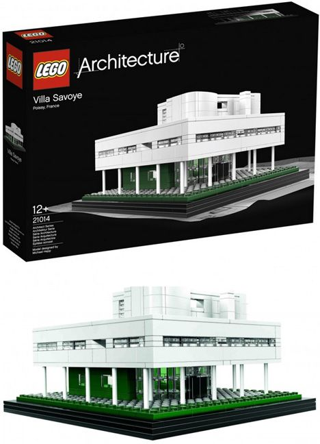 build the famous french blend of modern architecture with nature recreate the villa savoye within a building set featuring the iconic details of this
