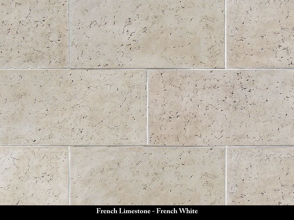 French Limestone Stone Veneer French White French