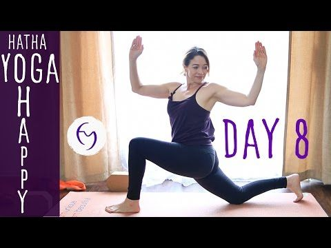 day 8 hatha yoga happiness clean out the fridge with