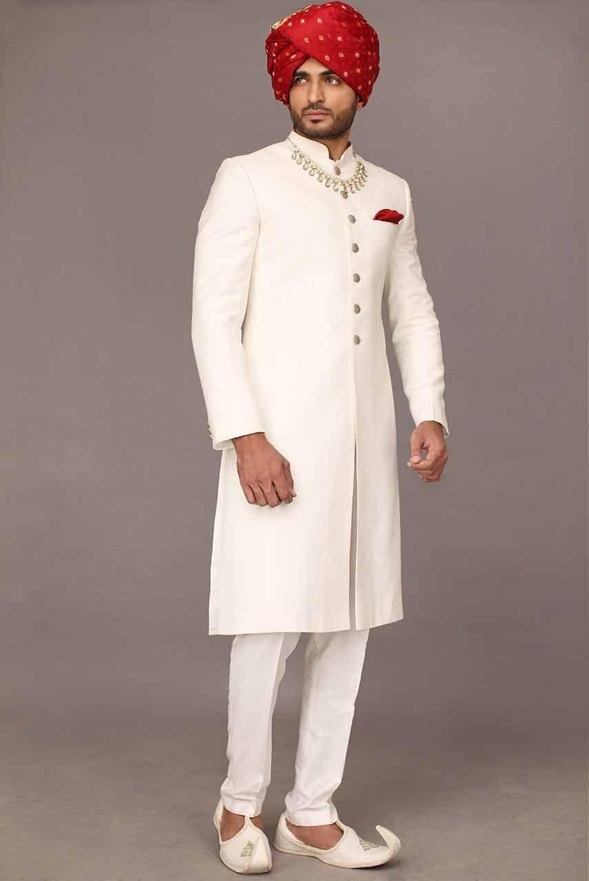 Wedding Sherwani Designs For Groom Barat In 2021 2022 Sherwani For Men Wedding Indian Men Fashion Wedding Kurta For Men [ 1280 x 855 Pixel ]